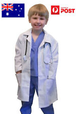 aussie seller - children's labcoat lab coat for kid with height of 140-160cm