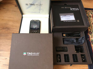 Tag Heuer Racer mobile phone model TH3M2B1 Compete with box Excellent Condition