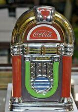 "Gibson 2002 Coca Cola Jukebox Ceramic Cookie Jar 12"""