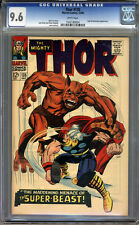 Thor #135 CGC 9.6 NM+ WHITE Pages Universal CGC #1042189004
