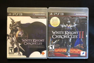 White Knight Chronicles & White Knight Chronicle II (Sony PlayStation) Complete