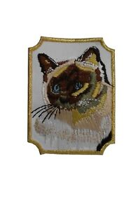 #3006 Siamese Cat Breed Embroidery Iron On Applique Patch