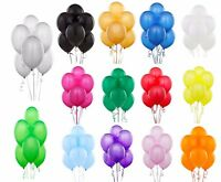 12'' INCH PEARLISED BALLOONS LATEX HELIUM QUALITY WEDDING BIRTHDAY PARTY DECOR