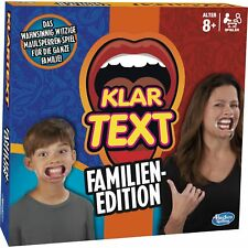 Hasbro Gaming Klartext Familien-Edition, Partyspiel