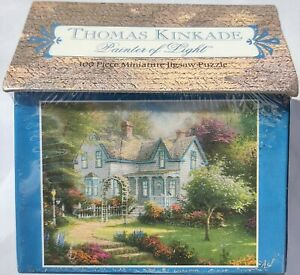 NEW/Sealed 1999 Thomas Kinkade Home Is Where Heart Is 100Pc Miniature Puzzle