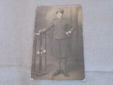 Foto soldato prima guerra mondiale regio esercito ww1  uniforme italiana
