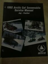 Arctic Cat Snowmobile Service Manual For Jag And Panther