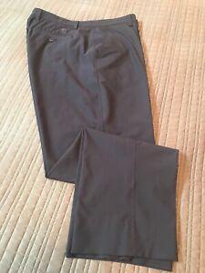 FootJoy FJ Golf Mens Performance Navy Blue Flat Front Pants Size 38 x 30