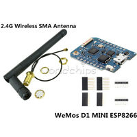 D1 Mini Pro-16 Bytes Module ESP8266 Series WiFi Wireless Antenna WeMos Connector