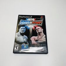 WWE SmackDown vs. Raw 2006 (Sony PlayStation 2, 2005) Complete Great Condition