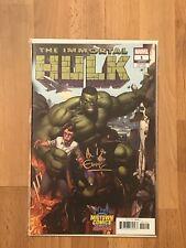 The Immortal Hulk 1 Midtown Comics Variant Signed By Al Ewing W COA