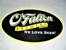 O'Fallon Brewery We Love Beer Metal Tin Tacker Sign New