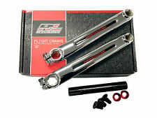 OLD SCHOOL BMX REDLINE FLIGHT CRANKS GROUP 180MM CR-MO REDLINE OLD SCHOOL