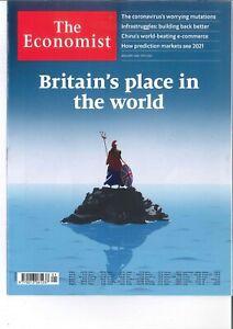 The Economist Magazin, 01/2021: Britain´s place in the world  +++ wie neu +++