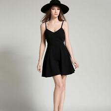 Summer Dress Casual Slim Sexy Backless Black White Lace Angel Wings Vestidos