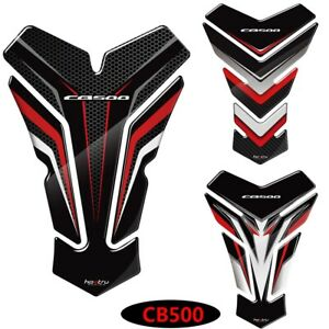 For Honda CB500 CBR500R CB500F 3D Sticker Gas Fuel Oil Tank Pad Protector Decal