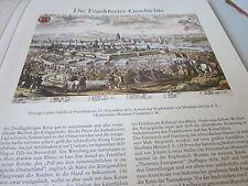 Frankfurt Archiv A 3 Geschichte 2018 Einzug Gustav Adolfs 1631 M Merian