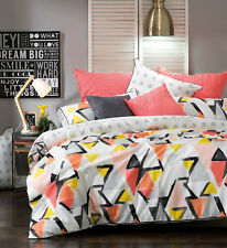 Hadley Duvet   Doona Quilt Cover Set by Bianca   Geometric and Modern