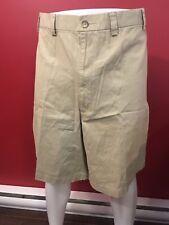 ST. JOHN'S BAY Men's Comfort Fit British Khaki Classic Shorts - Size 54 - NWT