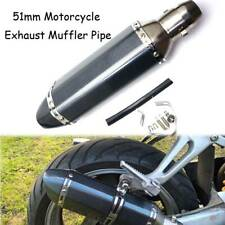 Exhaust Pipe Muffler Silencer Universal For Triumph Daytona 675 2006-2015 ABS