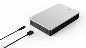 "SONNICS 3TB Desktop 3.5"" External Hard drive USB 3.0 XBOX ONE PS4 WIN MAC SILVER"