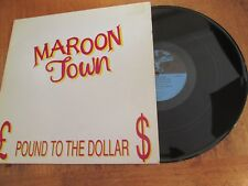 "Maroon Town – Pound To The Dollar VINYL 12""  ALBUM VGC  REGGAE DANCEHALL"