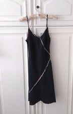 Robe noire en lin 34/36