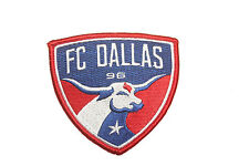 FC DALLAS MLS SOCCER EMBROIRERED IRON-ON PATCH CREST BADGE 3 1/4 X 3 INCHES