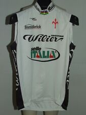 Bike Cycling Jersey Shirt Maillot Cyclism Sleeveless Wilier Triestina Size L