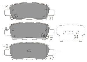 Disc Brake Pad Set-Optimizer Rear Dash 4 Brake CFD905