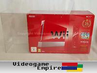1x Schutzhülle für Nintendo Wii Konsolen OVP Big (Mario 25th / Mario & Sonic)