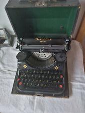 DDR Schreibmaschine ; Mercedes Prima ; Reiseschreibmaschine ; Zella Mehlis