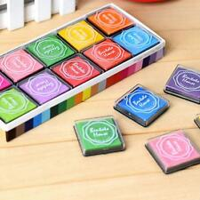 20 colors/box DIY Inkpad stamp Accessories