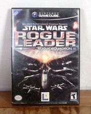 Star Wars Rogue Leader Rogue Squadron II 2 Nintendo GameCube Video Game tested