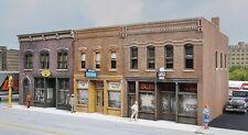 Escala H0 Kit construcción Calle comercial - 3 Tiendas 4040 NEU