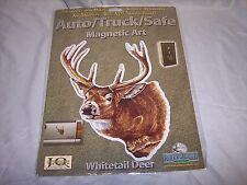 Rivers Edge Auto Magnet, Whitetail Deer, Will Not Damage Paint