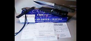 Camillus CQB1, No Benchmade, Spyderco, Cold Steel, SOG, Al Mar, Hattori, Randall