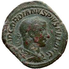 Roman coin Gordian III AE Sestertius Rome AD 241-243 SECVRIT PRRPET S C