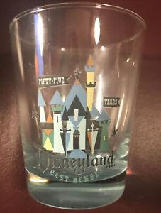 Disneyland 55 Years Castmember Glass
