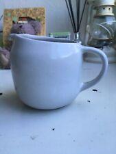 Heath White Stoneware Creamer