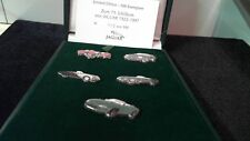 Jaguar 75 years ans pin badge collection 1922-1997 Limited Edition No. 30/500