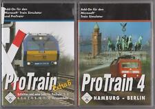 ProTrain 4 Hambourg Berlin + par Train Extra 6 Addons pour Train Simulator PC
