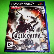CASTLEVANIA NUEVO Y PRECINTADO PAL ESPAÑA PLAYSTATION 2 PS2