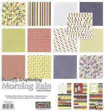 Spring Morning Rain 12X12 Scrapbooking Kit The Paper Loft Paper & Stickers Kit