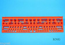 "Workshop 61cm Long Tool Storage Rack & Fixings 24"" Garage Wall Holder Hanger"