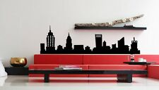 NEW YORK CITY NYC SKYLINE Mural Vinyl Wall Art Decal Sticky Sticker Decor 48""