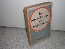 1936.plus belles pages de J.-H.Rosny Ainé.envoi autographe