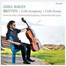 Britten: Cello Symphony & Sonata, New Music