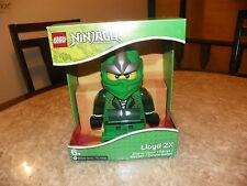 Lego Ninjago Lloyd ZX Minifigure Alarm Clock Green Ninja 9005763 NIP