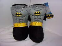 Batman Boys Size 7/8 Small Boots / Marvel / DC Comics / NWT